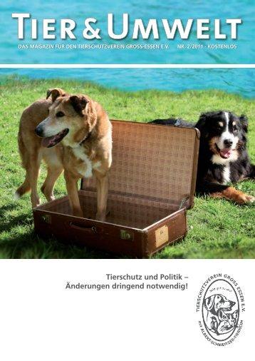 Tierschutz und Politik – Änderungen dringend notwendig!