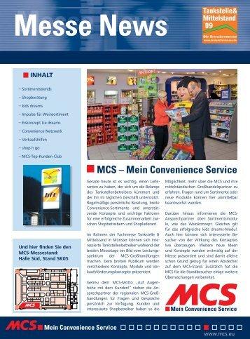 Messe News - MCS Marketing und Convenience-Shop System GmbH