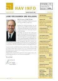 HAV Info Ausgabe III/2005