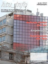 Ausgabe № 02 / 2010 - HTU HochschülerInnenschaft an der TU Wien