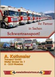 RICHTIGE FAHRZEUG! Unsere Kesselbrücken - A. Kothmaier ...