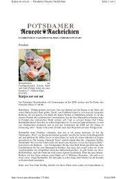 Katjes ost ost ost - der Brause-Plus GmbH