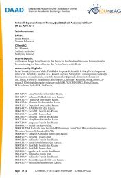 Protokoll Expertenchat 28.04.11 - EU-Community - DAAD