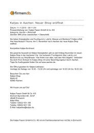 Katjes in Aachen: Neuer Shop eröffnet - Firmendb