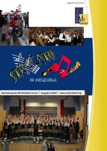 Die Musizeitung - Musikverein Kirchdorf/Inn