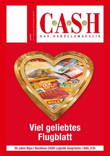 Viel geliebtes Flugblatt - Cash