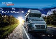 Markisen und regenrinne koMfort - Burmeister Caravan Center ...