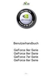 nVidia Benutzerhandbuch in PDF (Deutsch) - Digittrade