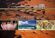 Reise-Handbuch für Afrikas Süden - S.A.Landprogramm