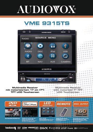 VME 9315TS - Magnat