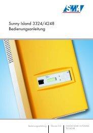 Sunny Island 3324/4248 Bedienungsanleitung - SMA Solar ...