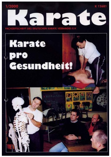 DKV-Magazin Nr. 1 - Chronik des Karate