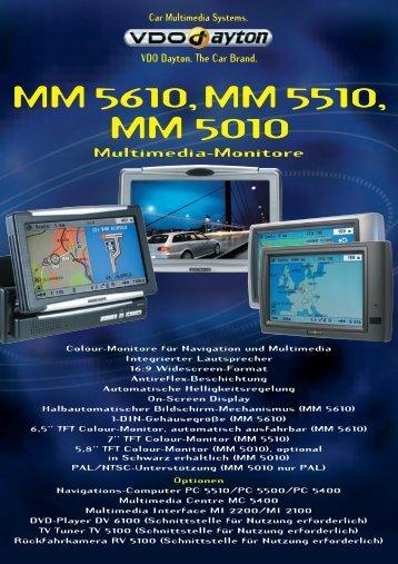 MM 5610, MM 5510, MM 5010 Multimedia-Monitore - jewuwa