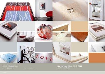 Rahmen und Alben 2010/2011