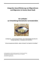 Integrative Sprachförderung von Migrantinnen und Migranten im ...
