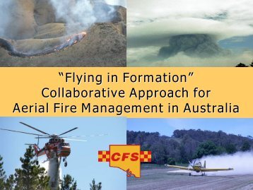 Collaborative approach to aerial fire - Knowledge Web