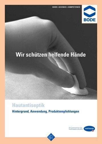 Folder: Hautantiseptik - Produkte - Bode Chemie