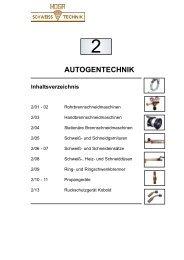 Katalog Bereich 2 - HOGA Schweisstechnik GmbH