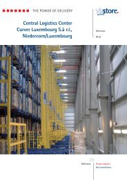 Central Logistics Center Curver Luxembourg S.à ... - ViaStore Systems