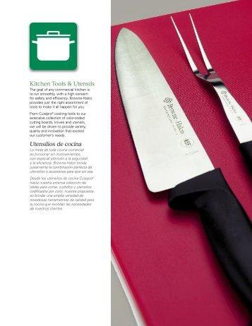 Kitchen Tools & Utensils Utensilios de cocina - Browne Foodservice
