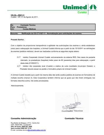 Cuiabá, 28 de dezembro de 1999 - Unimed Cuiabá