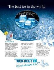 KDI LIT-9401-best ice.qxd - Kold-Draft