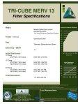 1900-7 MERV 13 CUBE BROCHURE - Tri-Dim Filter Corporation - Page 4