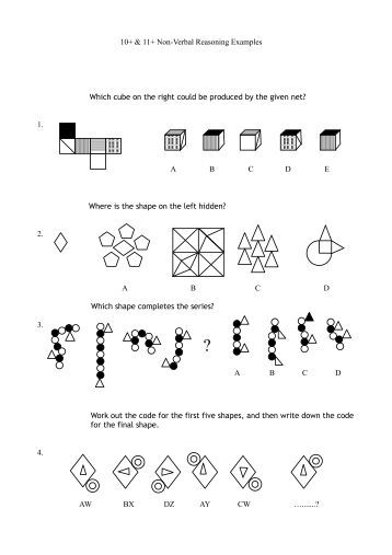 Non Verbal Reasoning Type 7 - 'Most Like ' - Guide for the 11 Plus