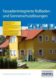Alukon Fassaden- integriert - K+K Sonnenschutz GmbH
