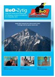 Förderverein Radio BeO Postfach 601 3800 Interlaken