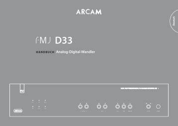 D33 - Arcam