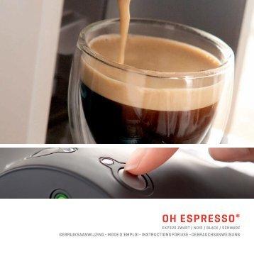 oh espresso® - Rombouts Oh Espresso®   Home