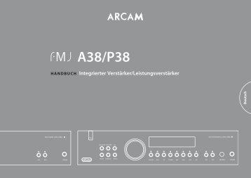 A38/P38 - Arcam