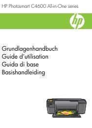 HP Photosmart C4600 series - Hewlett-Packard