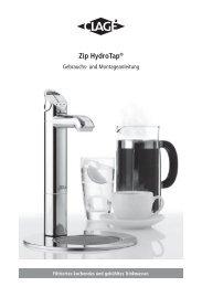 Zip HydroTap® - Clage GmbH