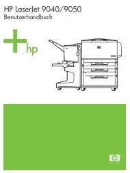 HP LaserJet 9040/9050 user guide - DEWW - Hewlett-Packard