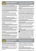 Safety precautions - Nespresso - Seite 2
