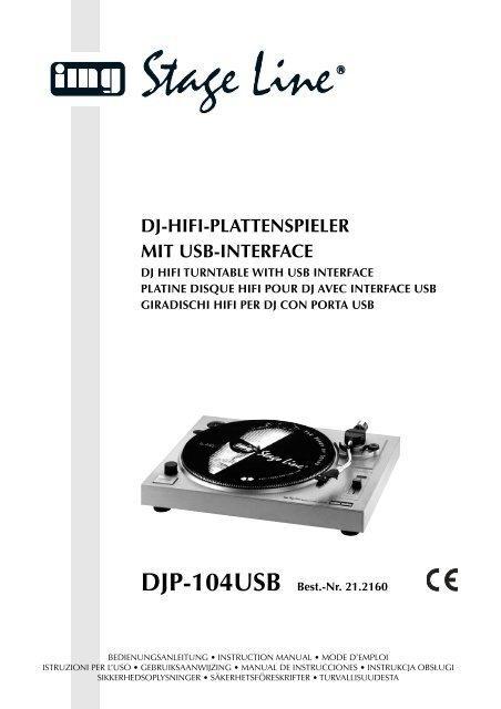 Orange/schwarz MONACOR EN-24 Stereo-Tonabnehmer-Magnetsystem mit ...