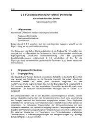 Entwurfsprinzipien und hydraulische Berechnung von ...