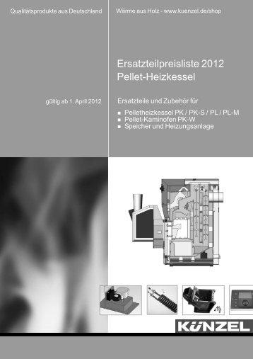 Pelletheizkessel - Paul Künzel GmbH & Co.
