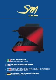 USO E MANUTENZIONE USE AND MAINTENANCE MANUAL ... - Picr