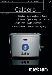 BA maybaum Toaster TO 550_C.indd - Efbe