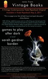 Borden PR.qxd:Games to Play After Dark PR - Sarah Gardner Borden