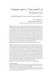 """A linguagem nupcial no """"Cántico espiritual"""", de San Juan de ... - Ufsm"""