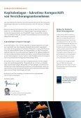 Kapitalanlagen von Versicherungsunternehmen - IIR Deutschland ... - Seite 2