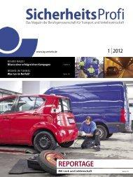 SicherheitsProfi 1/2012 - Berufsgenossenschaft für Transport und ...