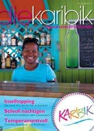 Inselhopping Stilvoll nächtigen Temperamentvoll ... - Karibik