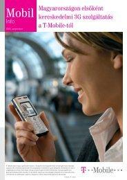 Mobil Info 2005. szeptember - T-Mobile