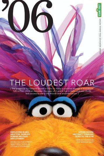 THE LOUDEST ROAR - Sesame Workshop