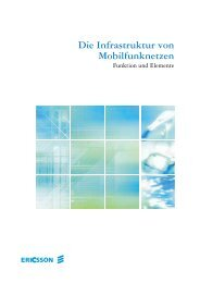Die Infrastruktur von Mobilfunknetzen - Kellner Telecom GmbH